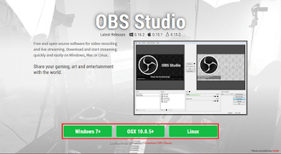 obs studio para windows
