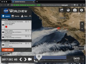 Worldview from NASA Software