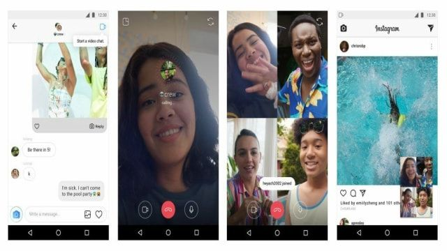 Video-Chat-Instagram
