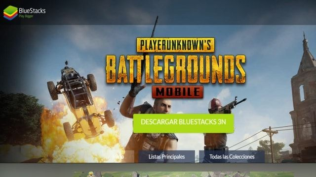 Bluestacks Menú