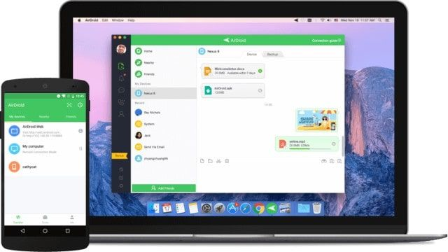 AirDroid (inalámbrico)